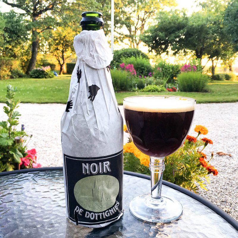 De Ranke Noir De Dottignies - Belgiskt välsmakande öl med fruktig doft och smak.