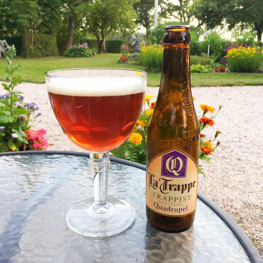 La Trappe Quadrupel - Belgisk god öl.
