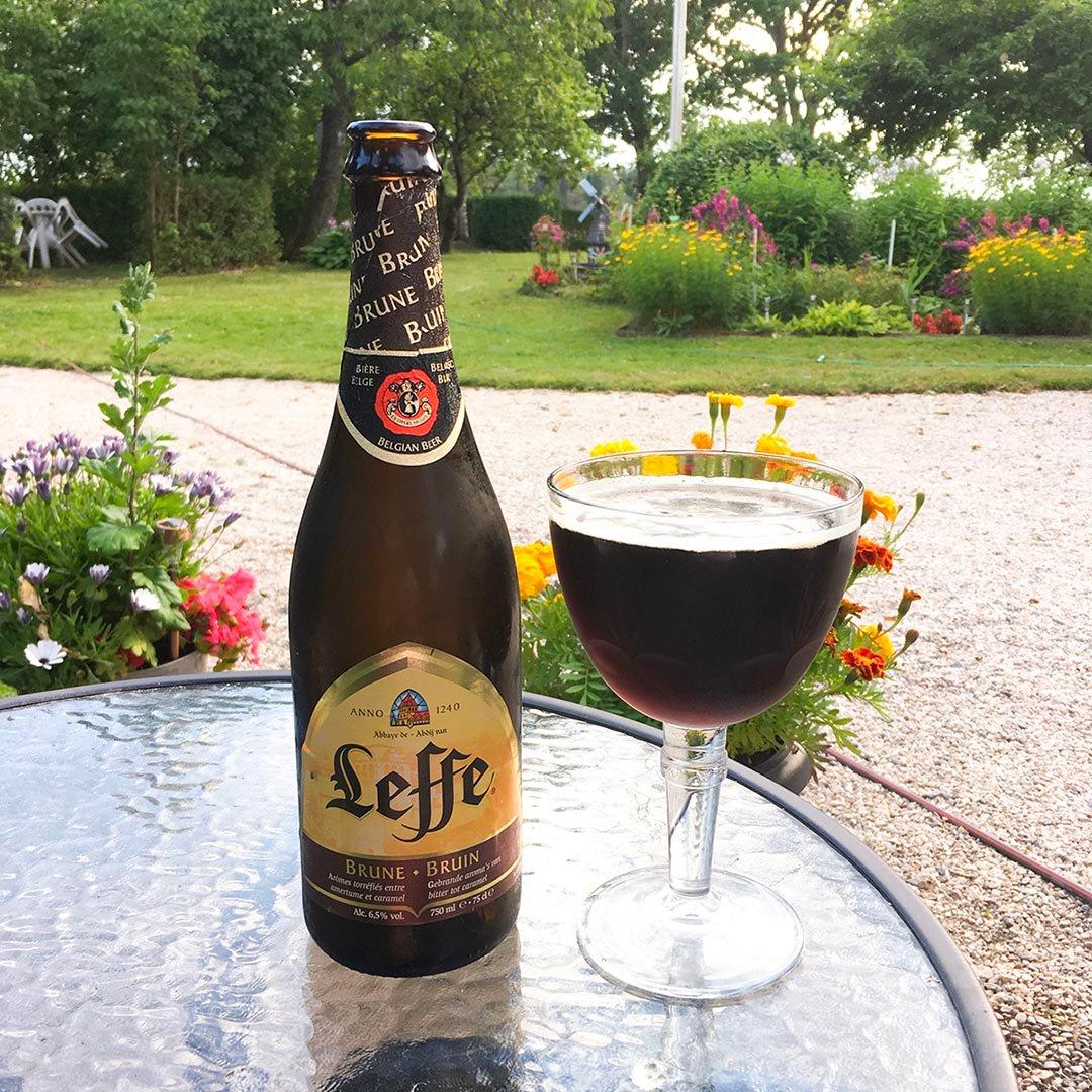 Leffe Brune - Stabil belgisk öl.