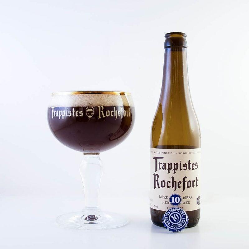 Trappistes Rochefort 10 - ett mästerverk på flaska. Välbalanserad och god trappistöl från munkarna i Abbaye de Notre-Dame de Saint-Remy.