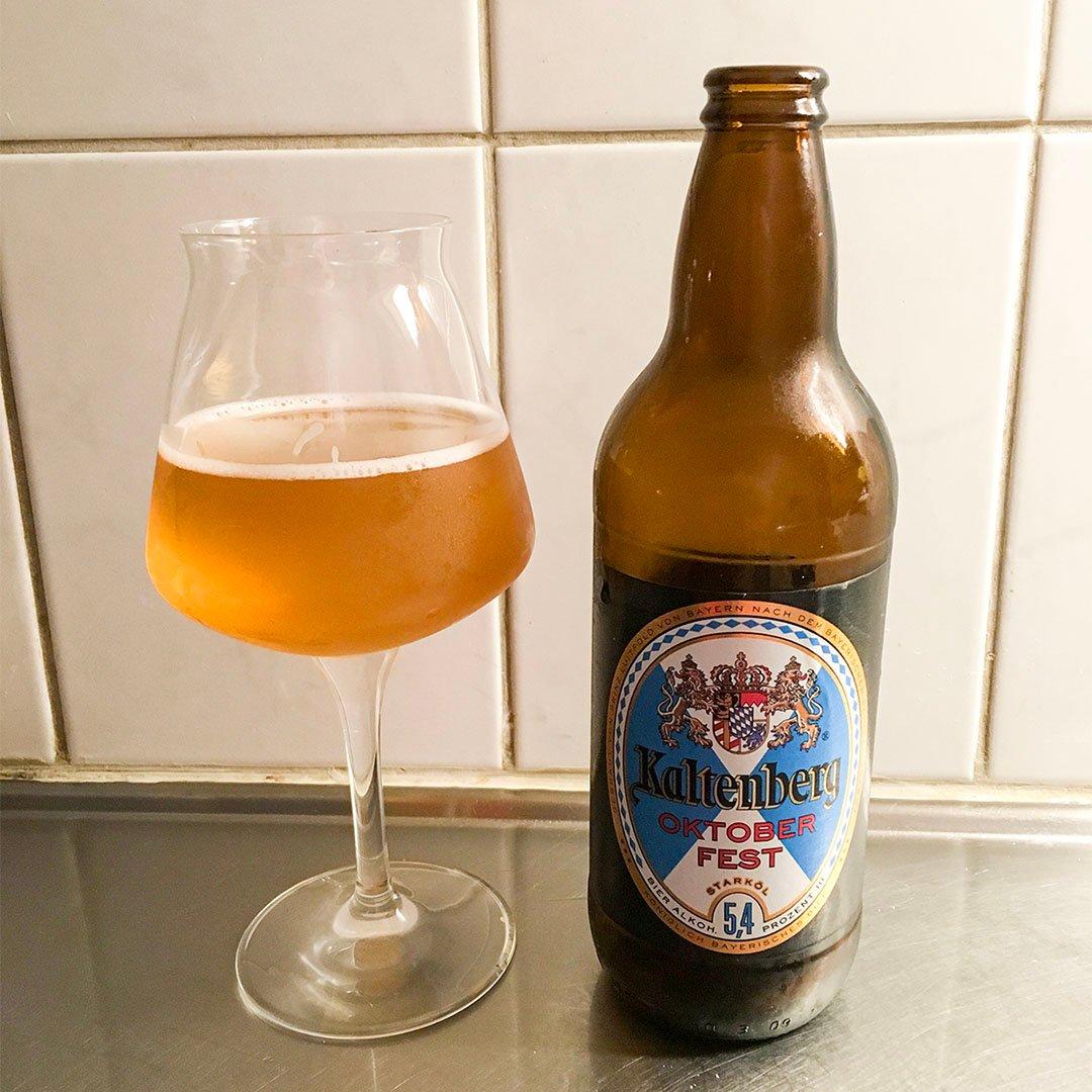 Kaltenberg Oktoberfest är nja på flaska.