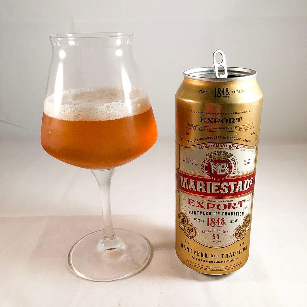 Mariestads Export - En svensk klassiker som håller.