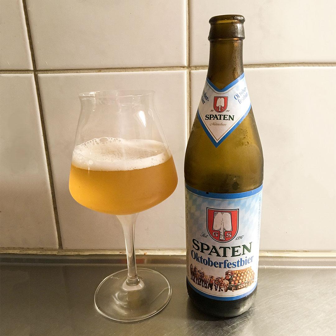 Spaten Oktoberfestbier - En öl som är sådär.