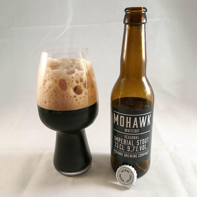 Mohawk Whiteout Imperial Stout - En ovanlig och smakrik öl.
