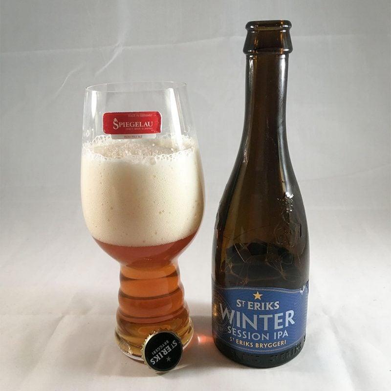 S:t Eriks Winter Session IPA är nja på flaska.