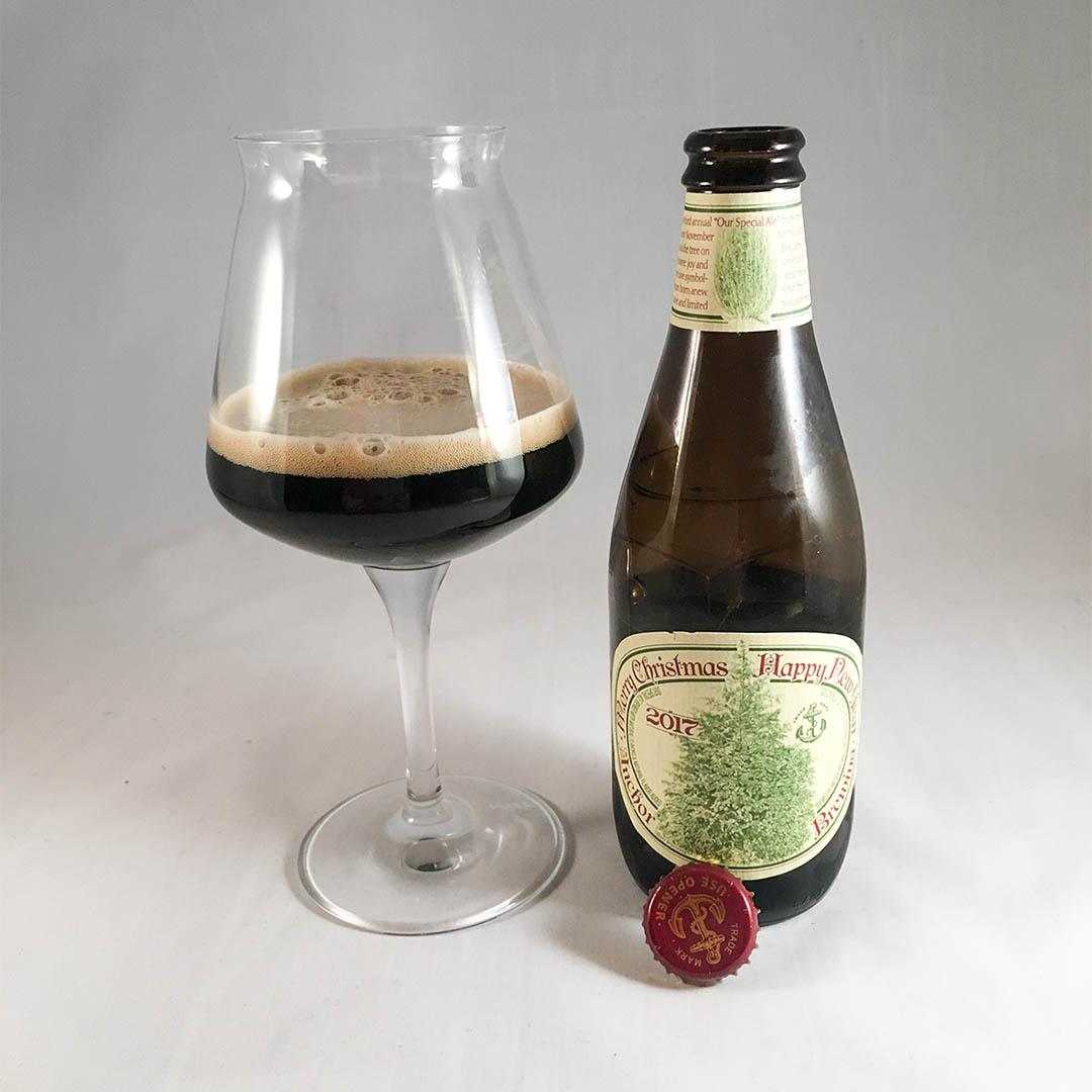 Anchor Christmas Ale är kort och gott en trevlig julöl.