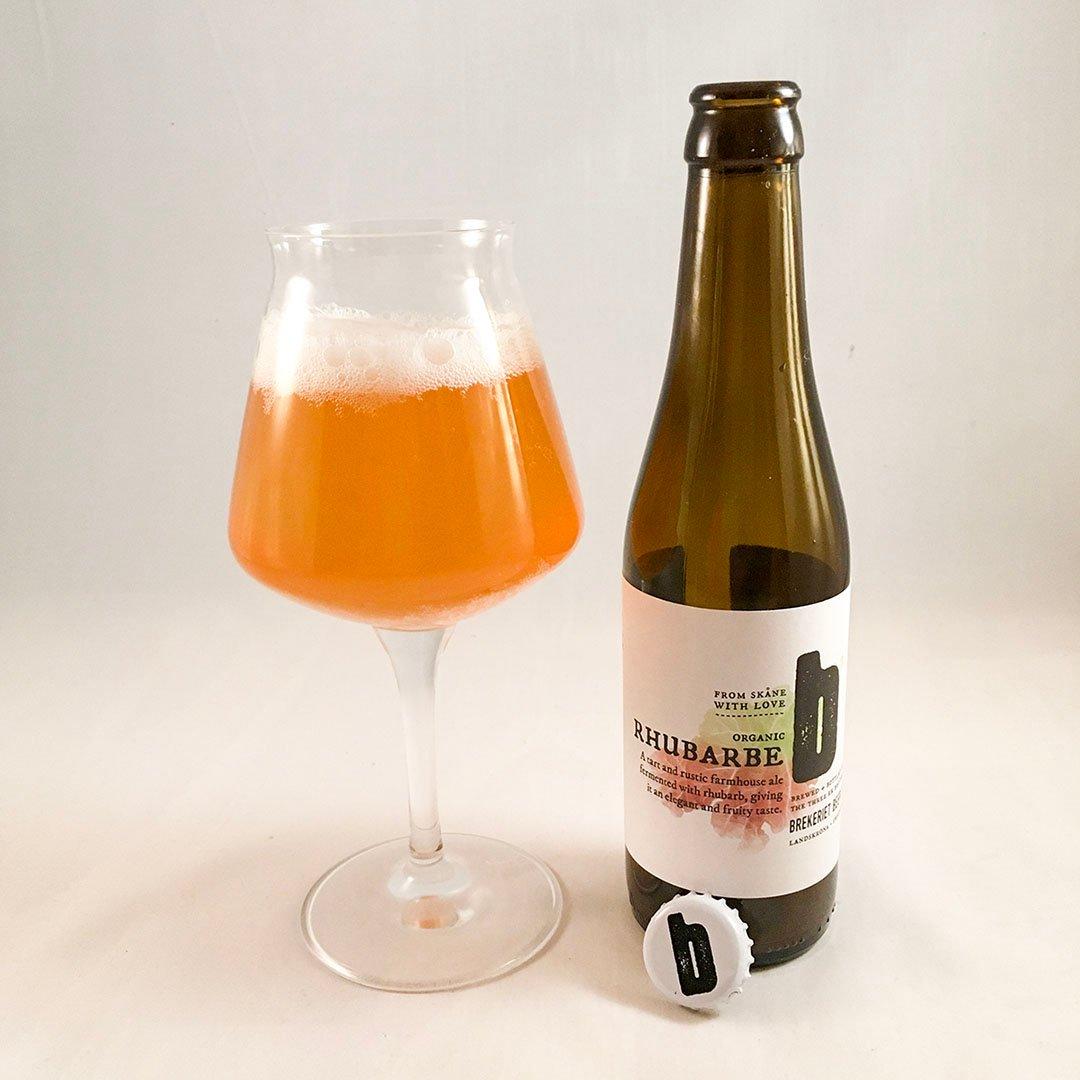 Brekeriet Rhubarbe - En blek kopia av belgisk suröl från bryggeriet i Skåne.