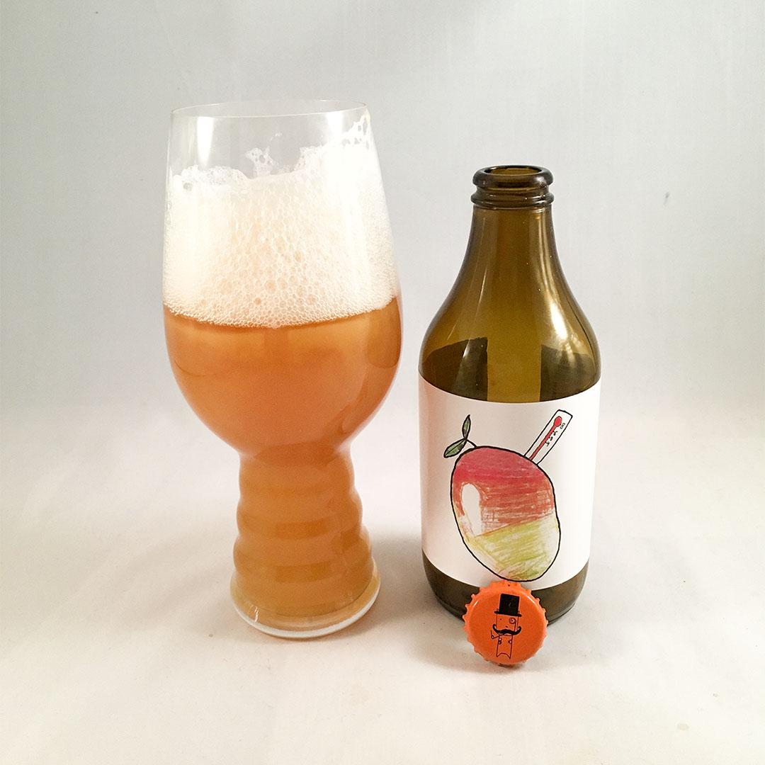 Brewski Mangofeber DIPA är tropisk öl från Helsingborg.