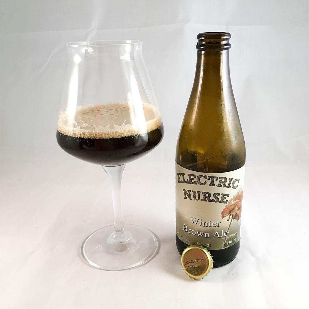 Electric Nurse Winter Brown Ale - En öl att tycka om.