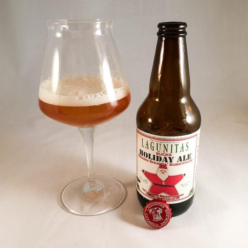 Lagunitas Sucks Holiday Ale är ölen utan julsmaker.