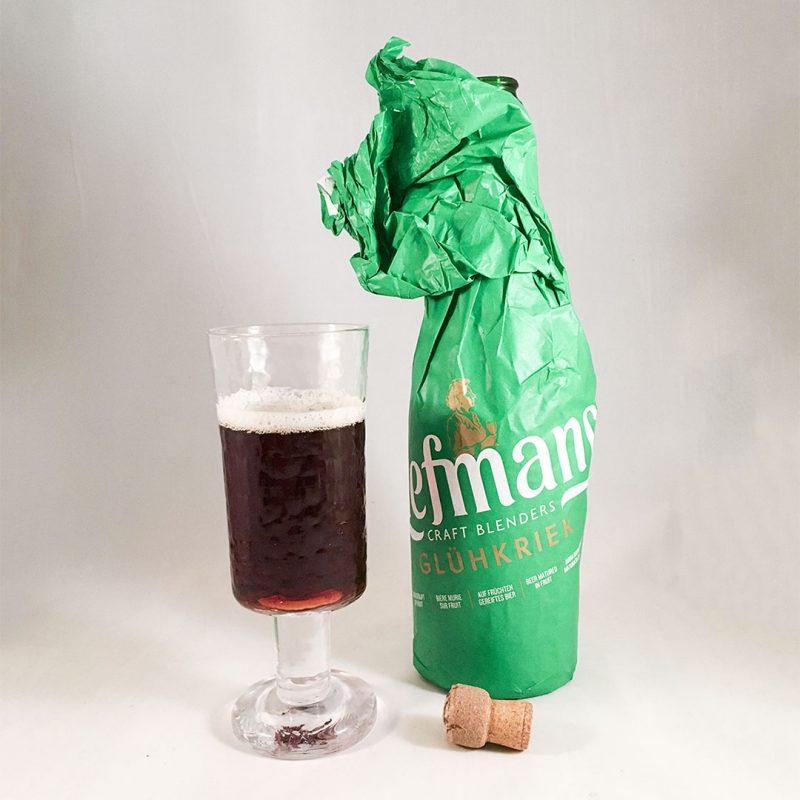 Liefmans Glühkriek - En värmande öl som du serverar vid 70°C.