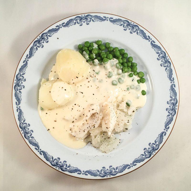Lutfisk med vit sås - Klassisk julmat som du lyckas med.