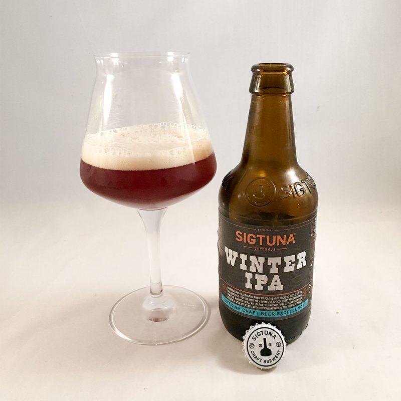 Sigtuna Winter IPA - En julöl jag inte köper igen.