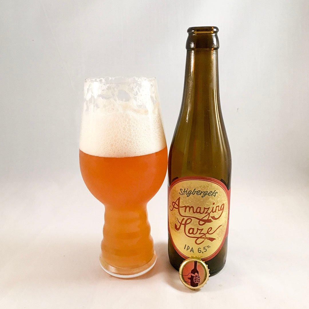 Stigbergets Amazing Haze - Tropisk doft och smak på flaska med inslag av skog.