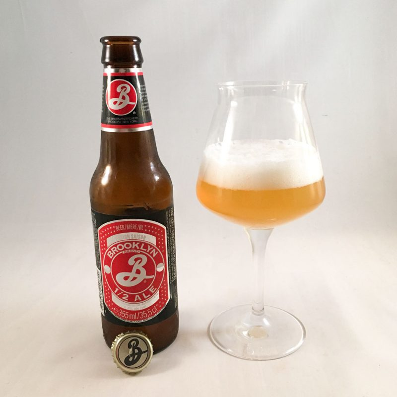 Brooklyn 1/2 Ale från Brooklyn Brewery är välsmakande öl värd att plocka hem från butikshyllan.