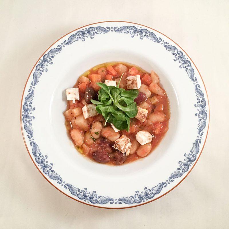 Grekisk böngryta - Recept på vegetarisk middag som DU kommer älska.