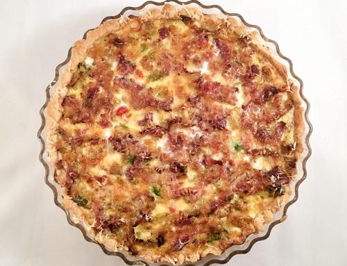 Kyckling- och baconpaj är recept på välsmakande middag