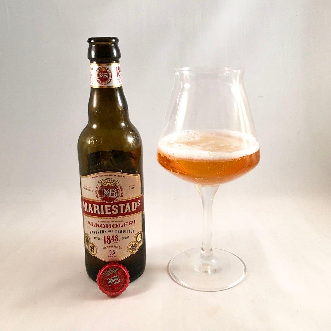 Mariestads Alkoholfri är god alkoholfri öl som jag kan rekommendera.