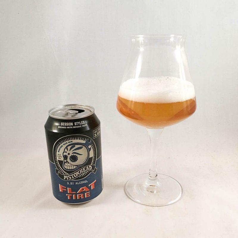 Pistonhead Flat Tire 3,5% är stabil trevlig öl.