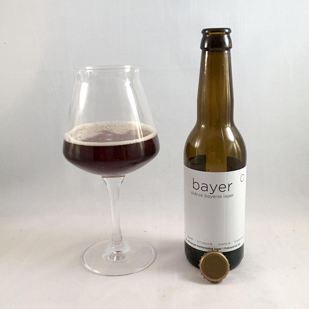 Charlis Bayer är trevlig stabil öl av stilen dunkel.