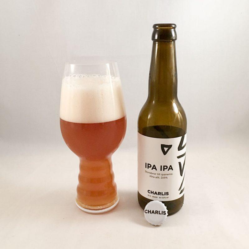 Charlis IPA IPA är storebror till Ipanema med xtra allt.