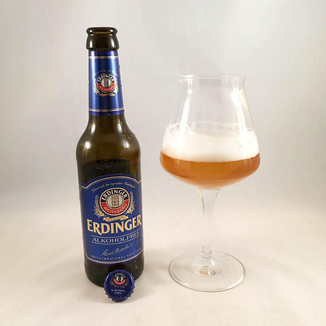 Erdinger Weissbier Alkoholfri passar bäst som måltidsdryck.
