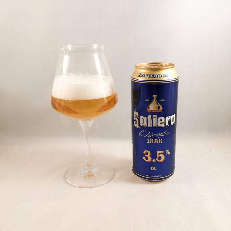 Sofiero Original 3,5% är stabil folköl.