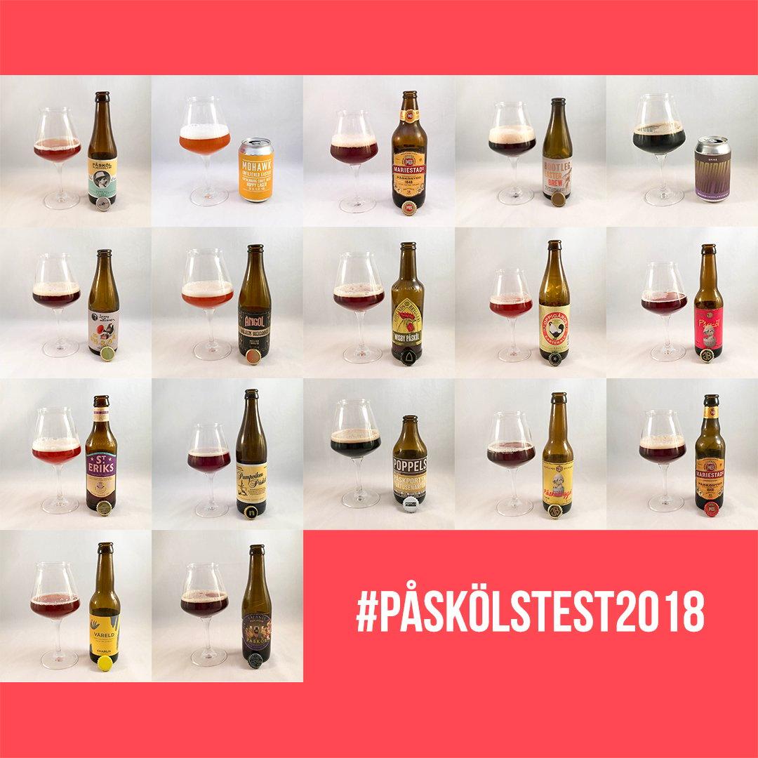 Årets bästa påsköl 2018 – Vinnarna och förlorarna i stort test.