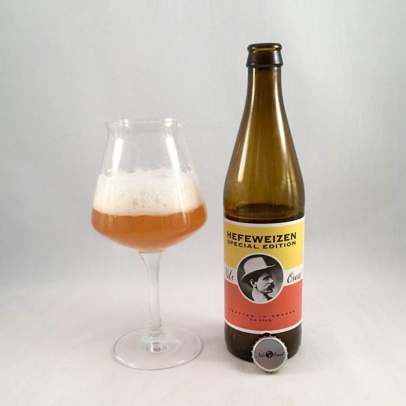 Nils Oscar Hefeweizen Special Edition är trevlig veteöl.