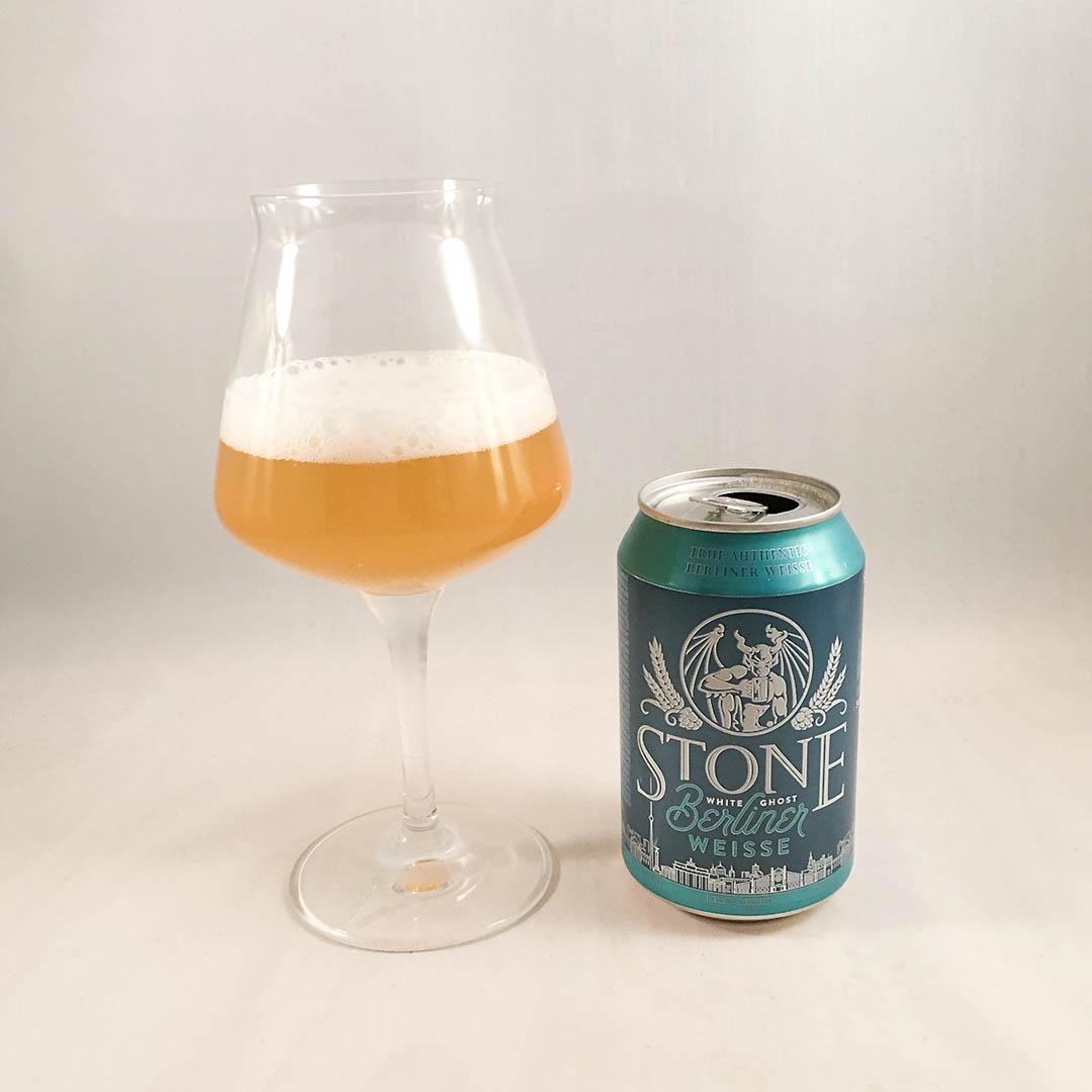 Stone White Ghost Berliner Weisse är en okej öl men inte mer än så.