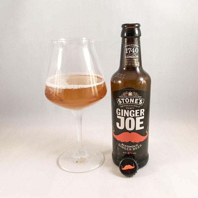 Stone's Ginger Joe är öl som smakar ingefära. Precis som sin alkoholfria lillebror men med extra allt.