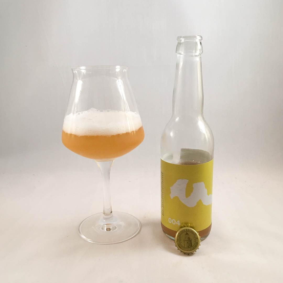 Värmdö Bryggeri Skärgårdsprojekt 004 Hefeweizen Lemon Twist.