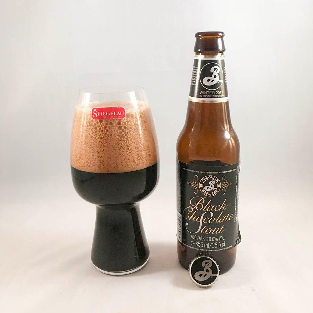 Brooklyn Black Chocolate Stout är trevlig imperial stout med smak av choklad och kaffe.