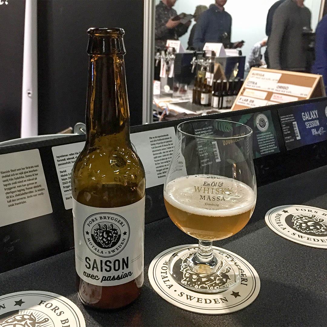 Fors Bryggeri Saison Avec Passion är saison från Motala.