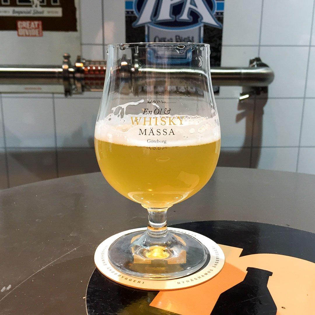 Pickla Ofiltrerad Pils från Nynäshamns Ångbryggeri är trevlig öl av stilen pilsner.