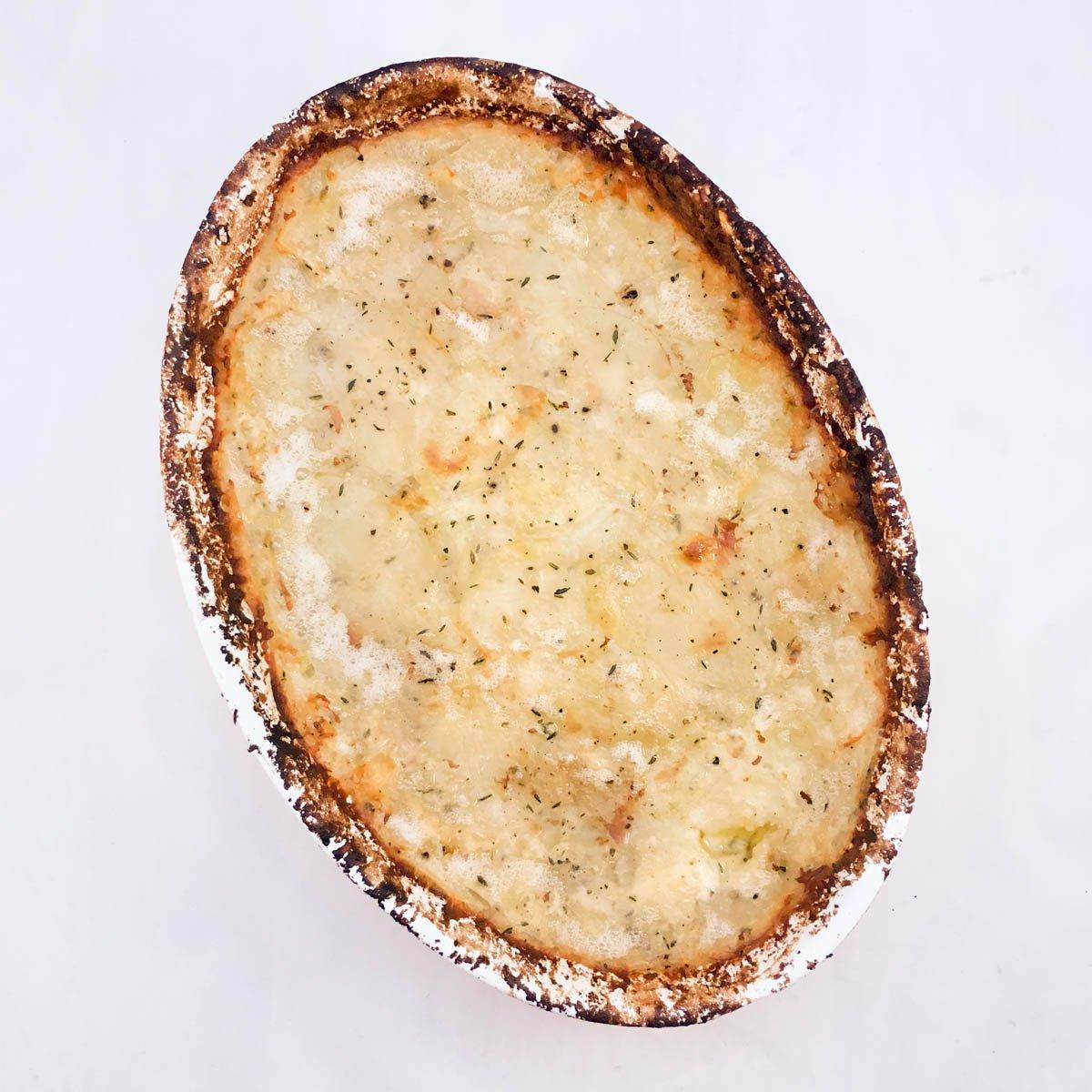 Potatiskaka - enkelt recept på tillbehör till kött, fågel eller fisk som DU lyckas med.