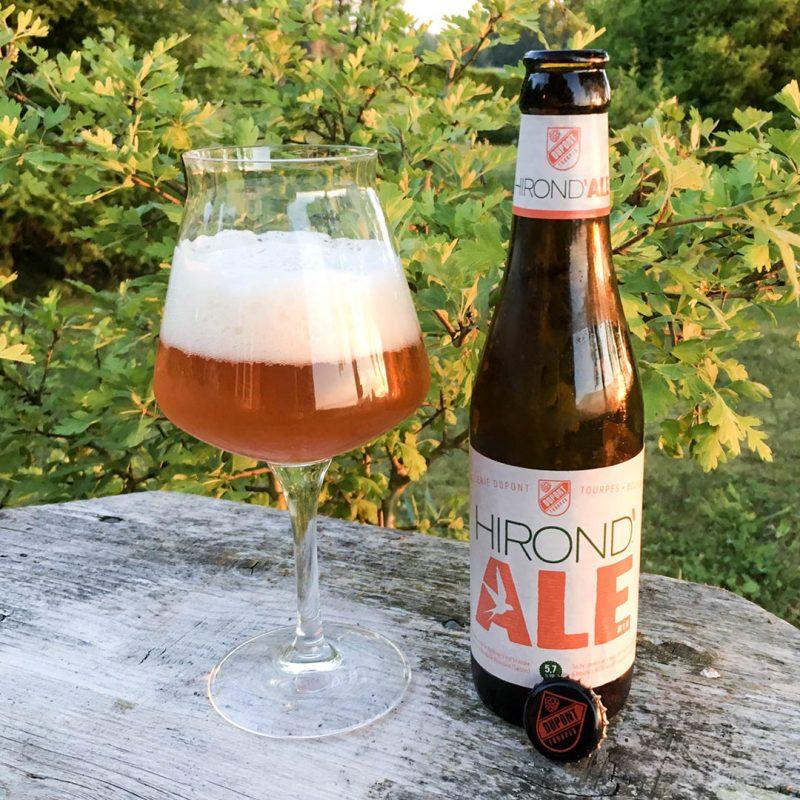 Dupont Hirond' Ale #1.0 smakar klassiskt Belgien utan några större krusiduller.