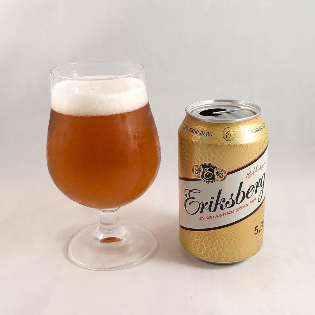 Eriksberg 5,3% är ölen som inte skäms för sig. Åtminstone om du frågar mig.