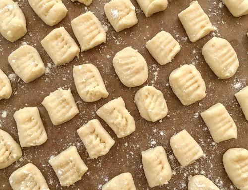 Hemgjord gnocchi som DU lyckas med