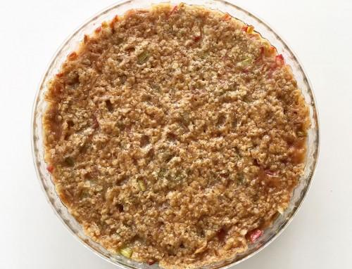Knäckig rabarberpaj – klassiskt recept