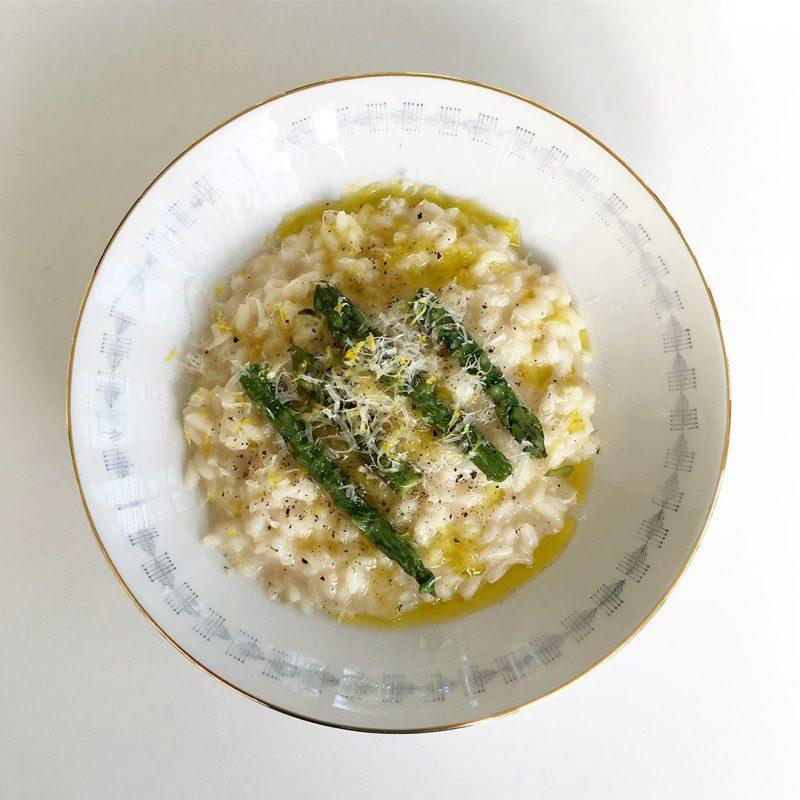 Sparrisrisotto - Recept som du lyckas med.