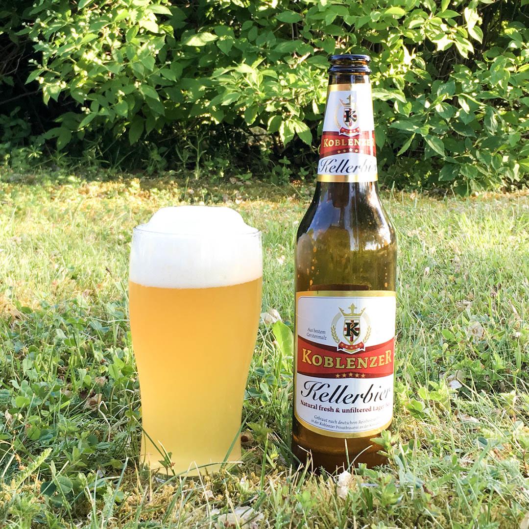 Koblenzer Kellerbier är tråkig att dricka i längden. En helt okej öl, men inte mer än så.