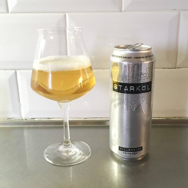 Millennium Starköl är bra exempel på dålig öl. Nej det är vasken som gäller här.