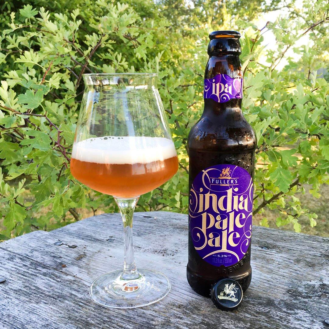 Fuller's India Pale Ale är en tråkig och lite tunn IPA som inte skapar habegär.
