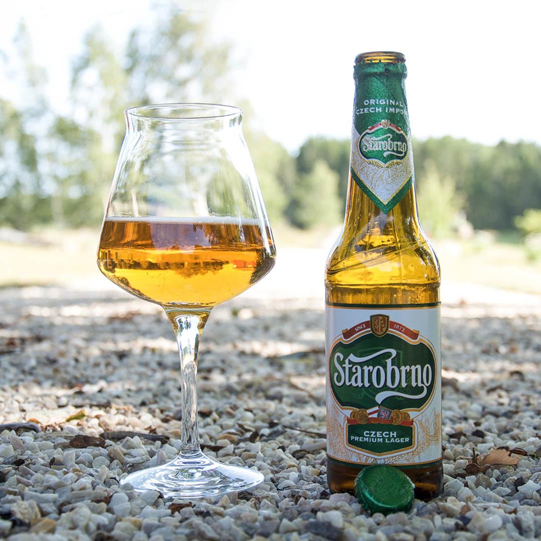 Starobrno Premium är varken bra eller dålig öl av stilen pilsner.