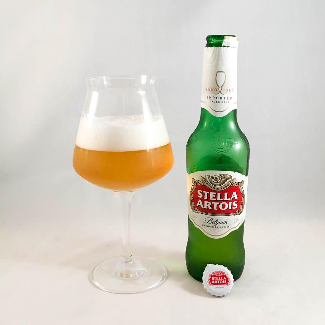 Stella Artois är ingen öl i världsklass men ska inte skämmas heller.