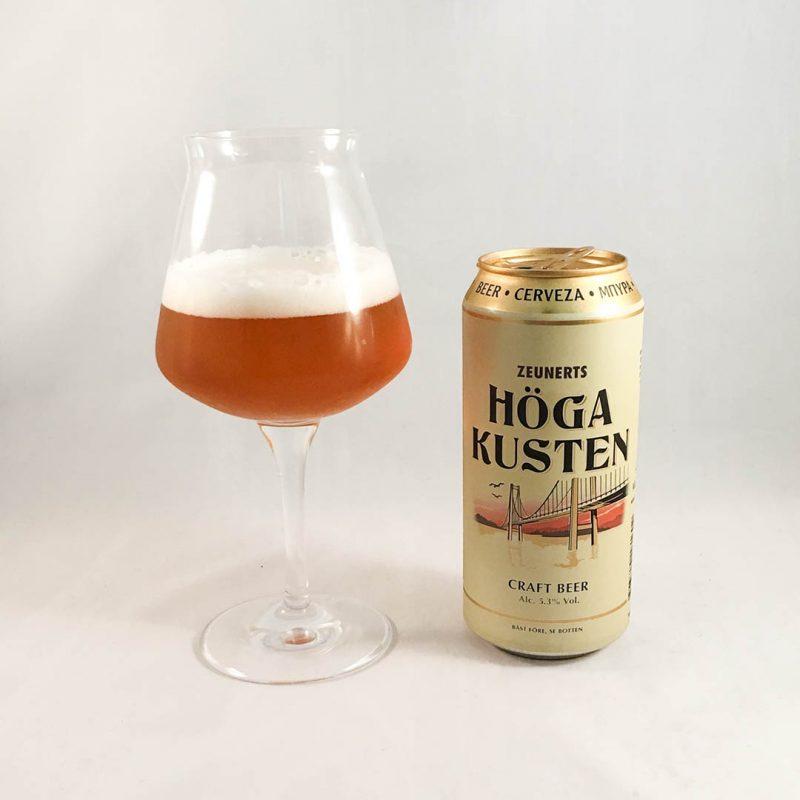 Zeunerts Höga Kusten är en öl i mängden och är varken bra eller dålig.