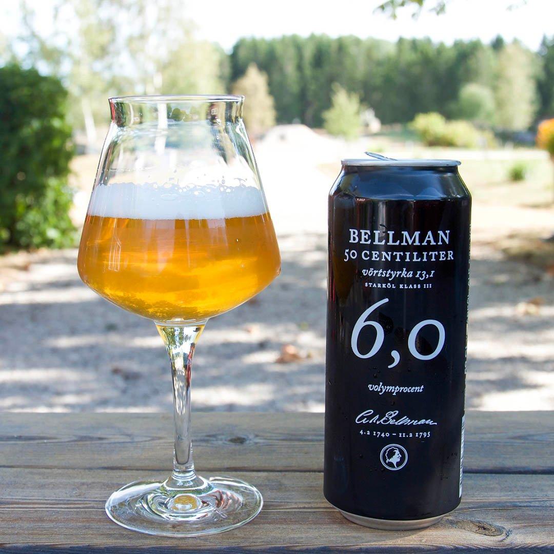 Bellman 6,0 smakar inte jättebra och ingen öl jag kan rekommendera.