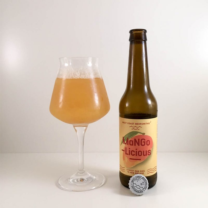 Mangolicious från West Coast Beersmiths är som att dricka en juice med smak av främst mango.