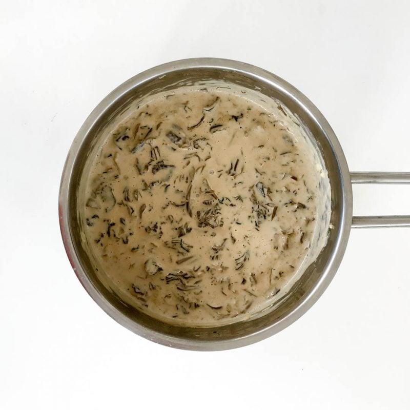 Trattkantarellsås - Enkelt och snabblagat recept på god svampsås som alla lyckas med.